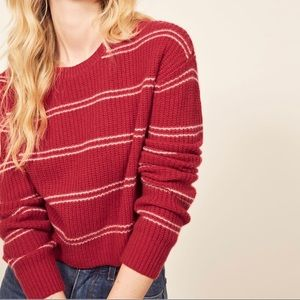 Reformation 100% Cashmere Kaia Sweater